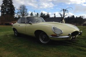 Jaguar e type 1962 Flat floor, matching numbers, rare find!!!