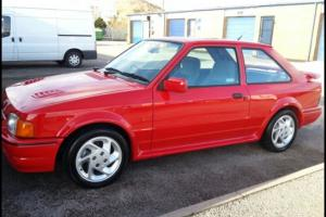 Ford escort rs turbo classic ford