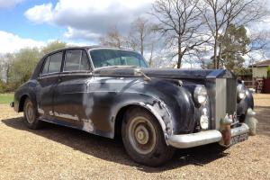 1957 Rolls Royce Silver Cloud 1 Straight 6 Power Steering Barn Find Photo