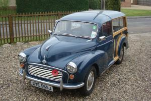 1971 Morris Minor Traveller 1275cc.