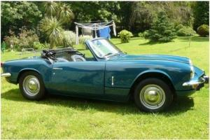 Rare Mk3 Triumph Spitfire good condition