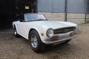 1973 Triumph TR6 LHD 25K miles Lady Owned..