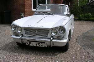 1967 Triumph Vitesse Mk1 2ltr. Convertable. 6 cylinder engine with overdrive