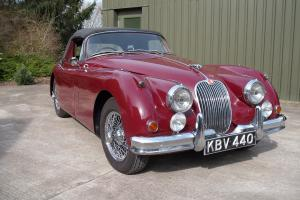 Jaguar XK 150 SE Drophead Coupe 3.4 Manual 1958, 51,000 Miles 5 Previous Owners