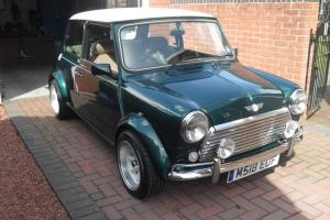CLASSIC MINI RACING GREEN JOHN COOPER LOOKALIKE - MAYFAIR  Photo