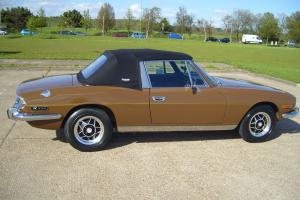 TRIUMPH STAG MANUAL TAX FREE,LOVELY CONDITION TAX MOT READY TO GO FOR THE SUMMER  Photo