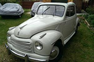 Fiat Topolino 500c 1953 Fantastic Condition, from Southern Italy