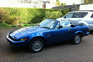 TR7/ TR8 Grinnall conversion 3.5 V8  Photo