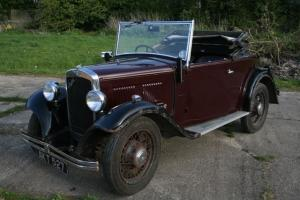 1934 Austin 10 convertible 2 seater with dickey
