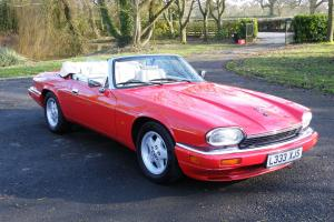JAGUAR XJS 4.0 CONVERTIBLE POWER HOOD EXCEPTIONAL CONDITION 2+2 SEATER P/XEITHER