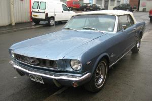 1966 FORD MUSTANG 289 V8 AUTO CONVERTABLE