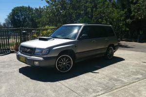 Subaru Forester GT 1998 4D Wagon 5 SP Manual 2L Turbo Mpfi in Medowie, NSW