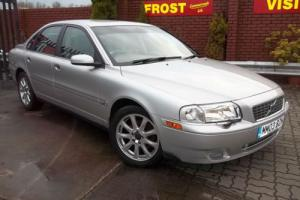 Volvo S80 2.5 TURBO SE SILVER ALCANTARA/LEATHER,LOW MILES-52,000 SUPERB CAR