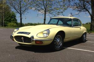 Jaguar E TYPE Series 3 5.3L V12 2+2 1972