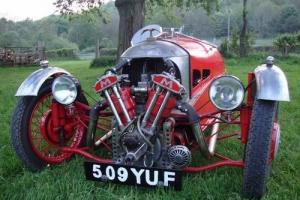 1934 Morgan Three Wheeler Super Sports MX4 - Classic Vintage Car / Motorbike Photo