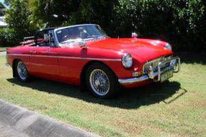 MGB Mkii Roadster 1970 1 8L 4SPEED Manual Overdrive Photo