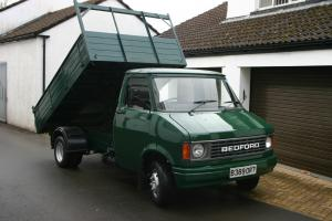 BEDFORD CF350 2 Petrol TIPPER 1984. Very low miles, Show condition