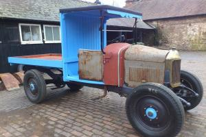 1926 UNIC VINTAGE TRUCK PROJECT French Camion Commercial Lorry Old Barn Find Car  Photo