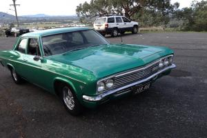 Chevrolet BEL AIR 1966 4D Sedan 2 SP Automatic 4 6L Carb in North Albury, NSW
