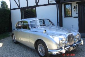 1968 DAIMLER V8 250 Auto SILVER with Red leather
