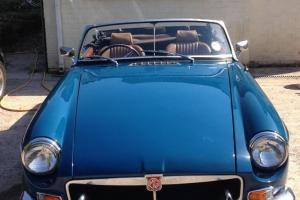 1971 MGB Roadster For Sale - Metallic Blue Photo