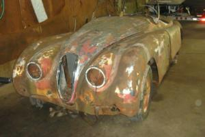 Jaguar xk120 roadster, matching numbers, cheap heavy project