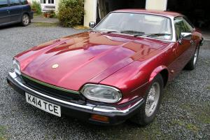 1993 JAGUAR XJ-S 4.0 AUTO RED