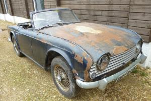 Triumph TR4A IRS - 1965 - 34974 miles- 2 Owners- For Restoration - No Reserve -