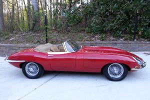 Jaguar E type Serie 1 roadster 1967, maching numbers, excellent car!!!! Photo