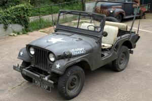 Willys Jeep M38A1 1953 Military American USA army classic historic commercial