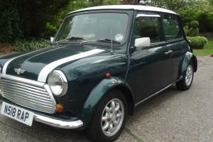 1996 Rover Mini Cooper 1.3i White / Green