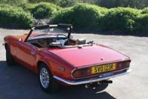 Triumph Spitfire GT6 Convertible Photo