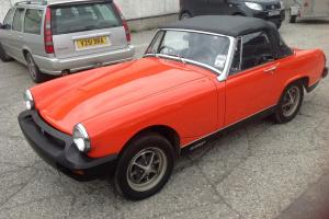 MG MIDGET MKIV 1980 RED no reserve
