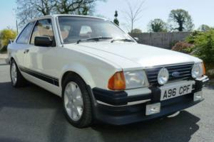 FORD ESCORT RS1600i Mk 3, 1983/A, ONE OF THE BEST, MOT MARCH 2015