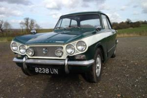 Triumph Vitesse 1963 MK1 1600cc Straight 6 Classic Car New 12 months MOT today Photo