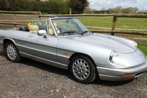 Alfa Romeo Spider S4. 1991. RHD, massive history, MOT and Tax