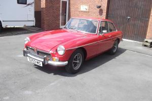 MGB GT. Chrome Bumper. Tax Free next Year. 1973. Reg 7253 MG.  Photo
