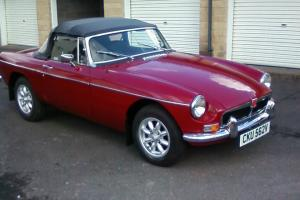 MGB Roadster Chrome Bumper  Photo