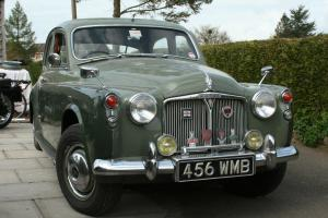 ROVER P4 80 SALOON - TWO TONE GREEN - 2286cc Engine