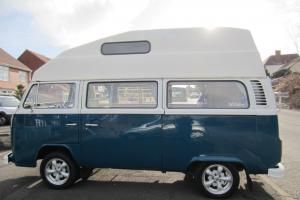 1978 VW Type 2 Bay high top camper, 12 months MOT