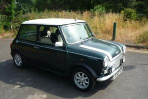 1997 Rover Mini Cooper in British Racing Green with 48,000 miles