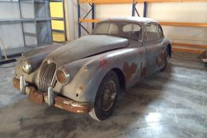 Jaguar XK150 Fixed Head Coupe 1958 LHD Barn Find Photo