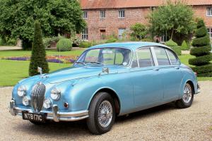Jaguar MK2 1965 2.4 Manual Overdrive Opalescent Light Blue Mark II MK II