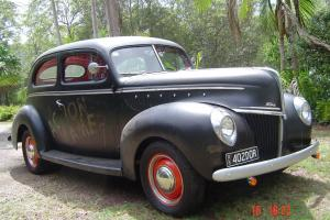1939 1940 Ford 2 Door Sloper Mercury V8 Flathead Reco 3 Speed ON THE Tree in Nambour, QLD