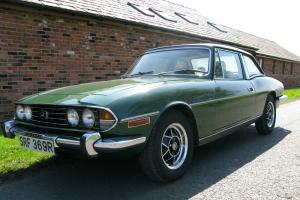 TRIUMPH STAG MK2 1977 TRIUMPH STAG ORIGINAL TRIUMPH V8 LAST OWNER 21 YEARS Photo