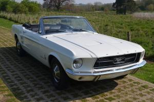 Ford Mustang 1967 289 Convertible Auto