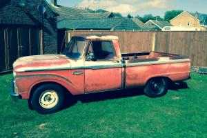 1966 Ford F100 - Dry State TX From New - #'s Matching 352 V8 with Manual Trans!