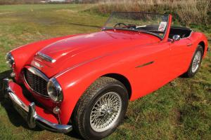 AUSTIN HEALEY 3000 MK1 BT7 RED RHD