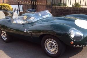 D-Type Jaguar 4.2 straight 6