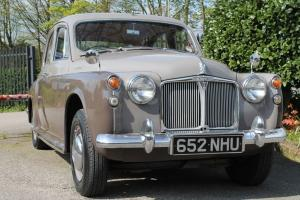 1961 ROVER 100 (P4) 4 Speed Manual Overdrive